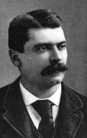 Gideon Marsh, President of the failed Keystone Bank in Philadelphia. Detective Frank P. Geyer went on an International search to bring the fugitive to justice.